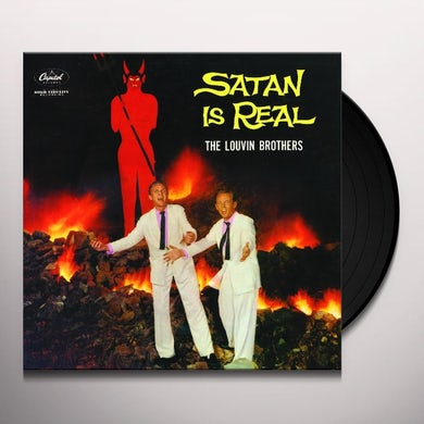 Louvin Brothers SATAN IS REAL Vinyl Record