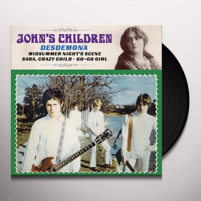 JOHN'S CHILDREN DESDEMONA Vinyl Record