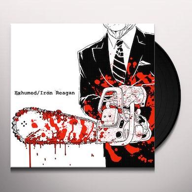 Exhumed/Iron Reagan SPLIT Vinyl Record