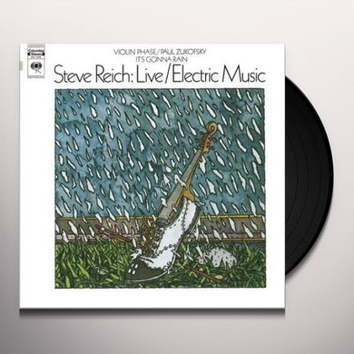 LIVE / ELECTRIC MUSIC Vinyl Record