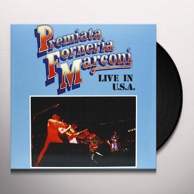 Premiata Forneria Marconi LIVE IN U.S.A. Vinyl Record