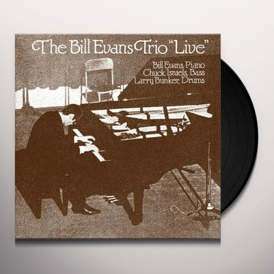 Bill Evans LIVE IN SAUSALITO Vinyl Record