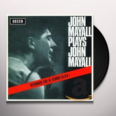 JOHN MAYALL PLAYS JOHN MAYALL Vinyl Record