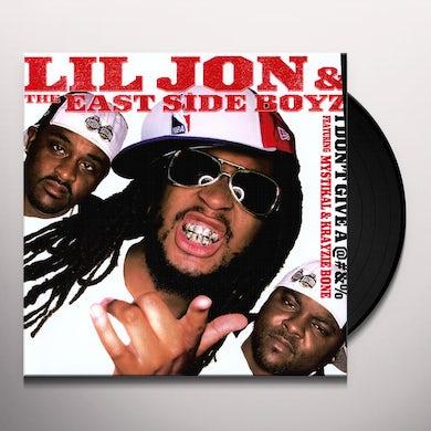 Lil Jon DON'T GIVE A @#&% Vinyl Record