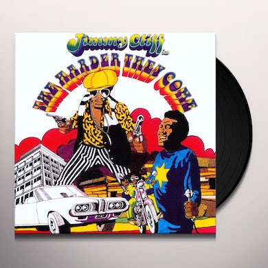 Jimmy Cliff HARDER THEY COME Vinyl Record - UK Release