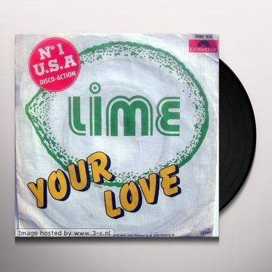 Lime YOUR LOVE 2000 Vinyl Record