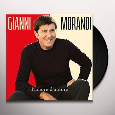 Gianni Morandi D'AMORE D'AUTORE Vinyl Record