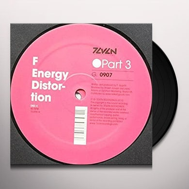F ENERGY DISTORTION 3 Vinyl Record