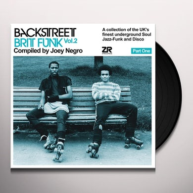 BACKSTREET BRIT FUNK 2 (PART ONE) Vinyl Record