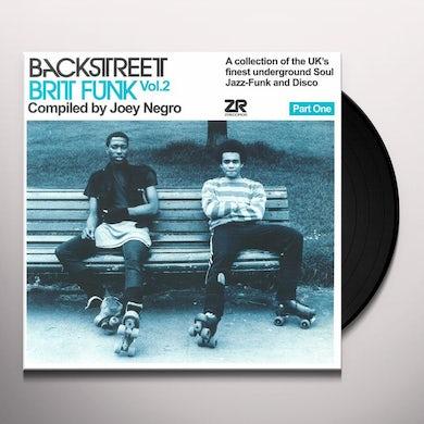 Joey Negro BACKSTREET BRIT FUNK 2 (PART ONE) Vinyl Record