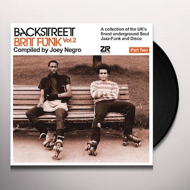 Joey Negro BACKSTREET BRIT FUNK 2 (PART TWO) Vinyl Record