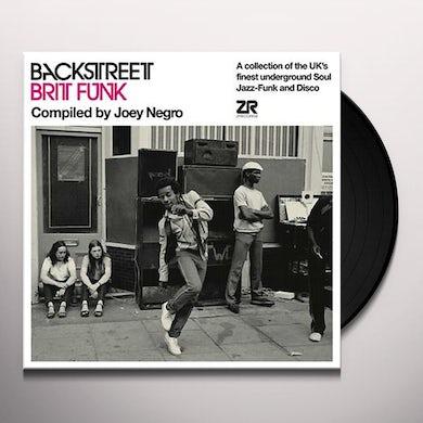 Joey Negro BACKSTREET BRIT FUNK 1 Vinyl Record