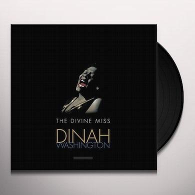 Divine Miss Dinah Washington Vinyl Record