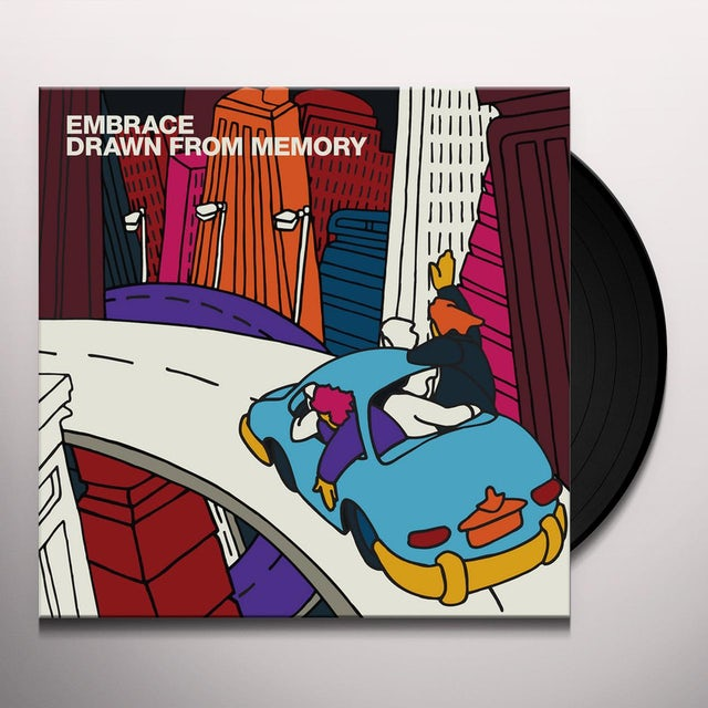 Embrace DRAWN FROM MEMORY Vinyl Record