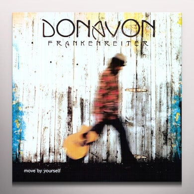 Donovan Frankenreiter MOVE BY YOURSELF Vinyl Record - Limited Edition, Clear Vinyl