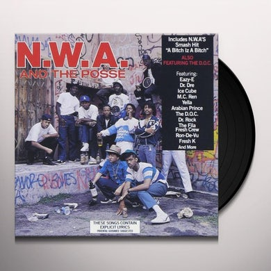 N.W.A. And The Posse Vinyl Record