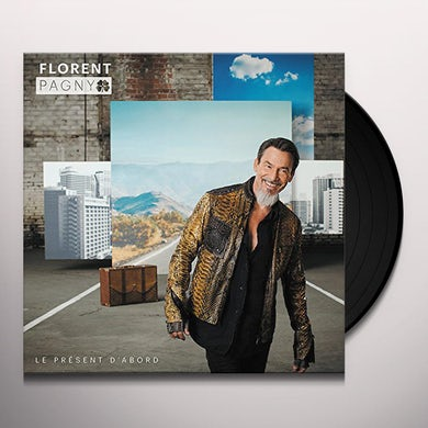 Florent Pagny LE PRESENT D'ABORD Vinyl Record