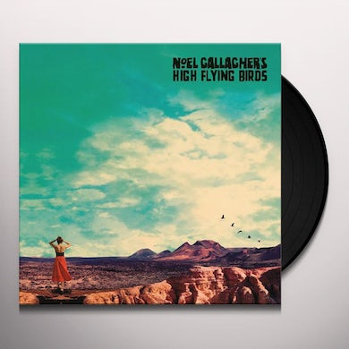 Noel Gallagher WHO BUILT THE MOON Vinyl Record