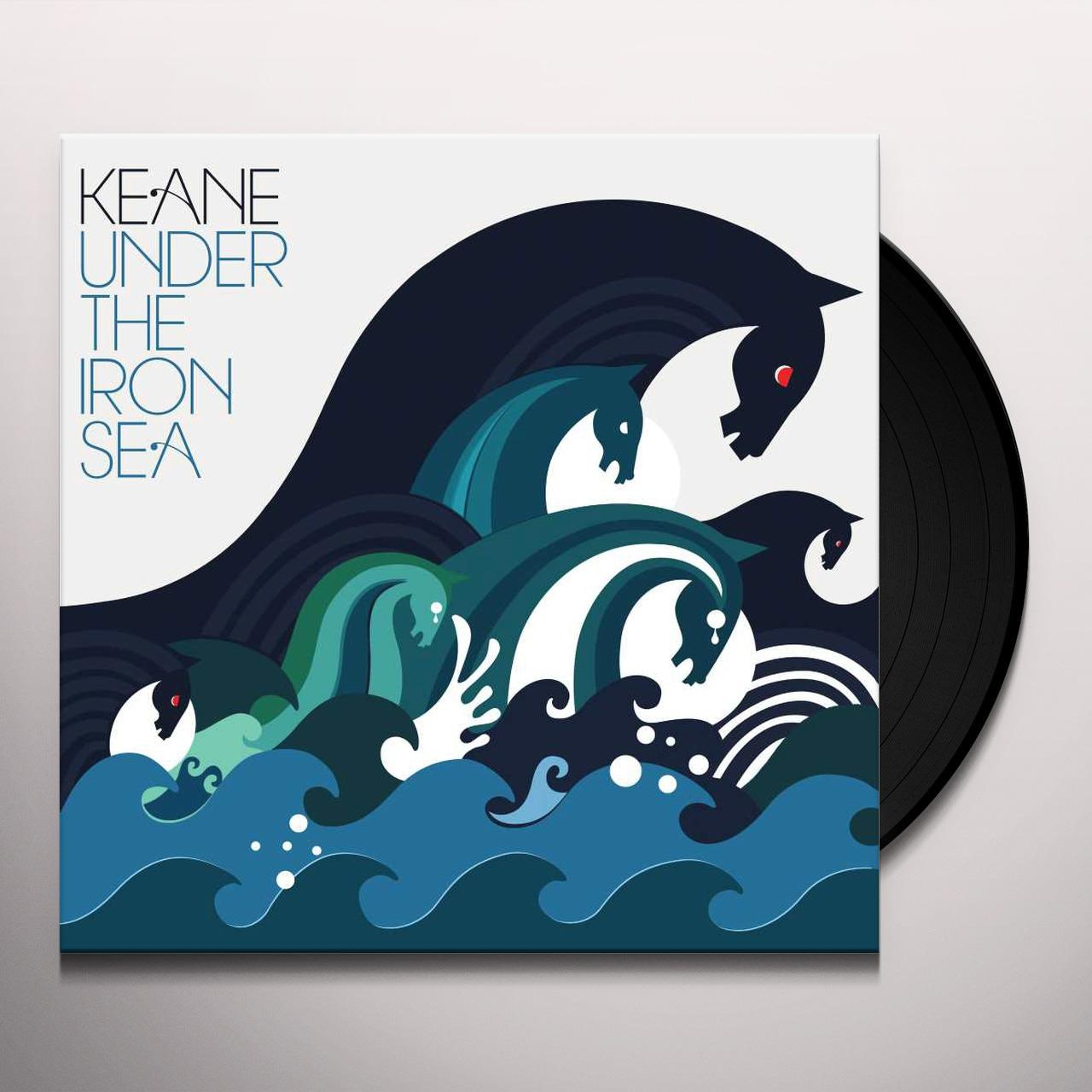 Keane Under The Iron Sea Vinyl Record