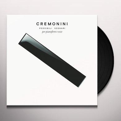 Cesare Cremonini POSSIBILI SCENARI PER PIANOFORTE E VOCE Vinyl Record