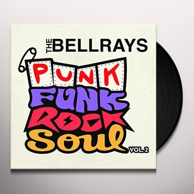 PUNK FUNK ROCK SOUL 2 Vinyl Record