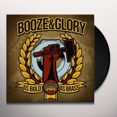 Booze & Glory AS BOLD AS BRASS Vinyl Record