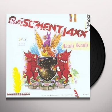 Basement Jaxx KISH KASH Vinyl Record