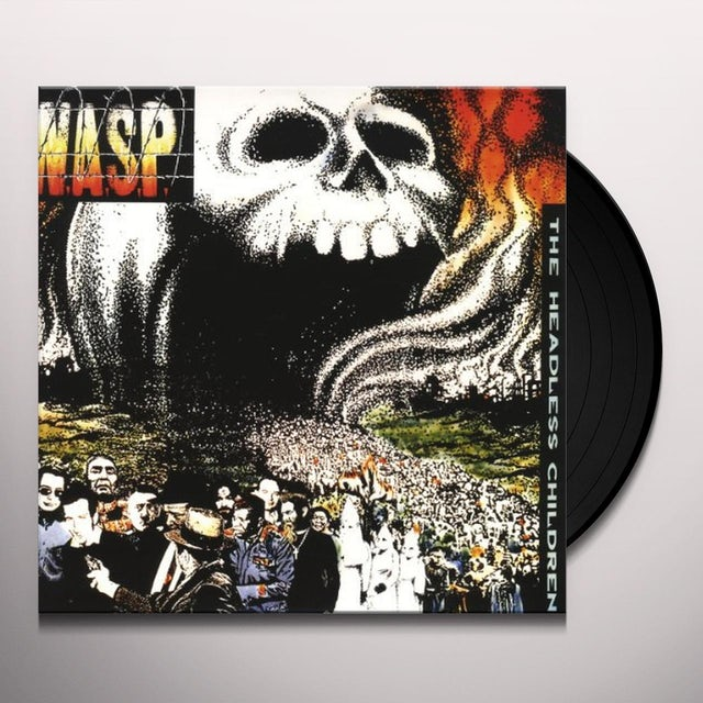 W.A.S.P HEADLESS CHILDREN Vinyl Record