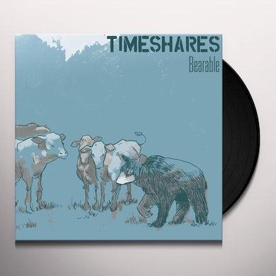Timeshares BEARABLE Vinyl Record