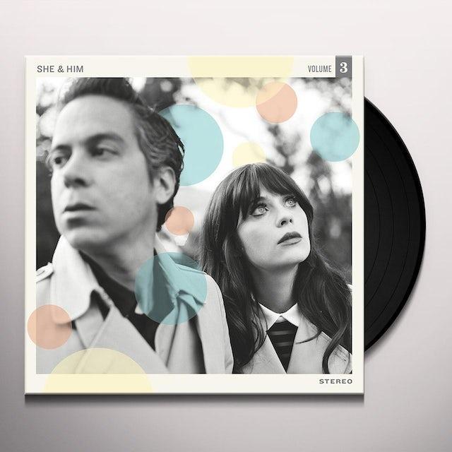 She & Him VOLUME 3 Vinyl Record