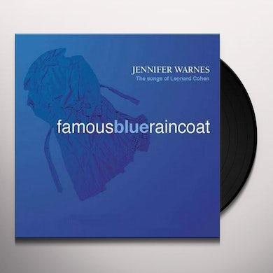 Jennifer Warnes FAMOUS BLUE RAINCOAT Vinyl Record