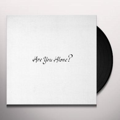 Majical Cloudz ARE YOU ALONE Vinyl Record