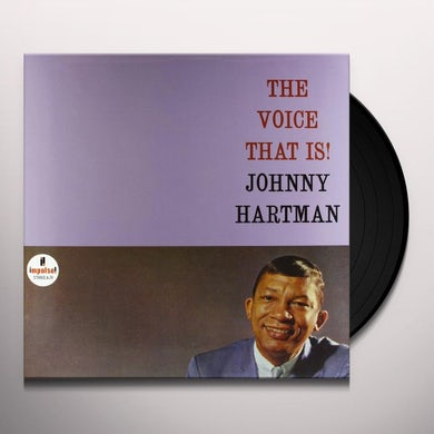 Johnny Hartman VOICE THAT IS Vinyl Record