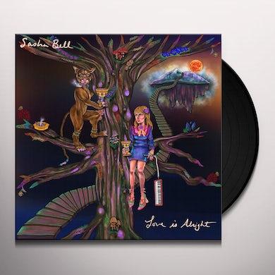 Sasha Bell LOVE IS ALRIGHT Vinyl Record
