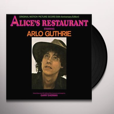 ALICE'S RESTAURANT: ORIGINAL MGM MOTION PICTURE Vinyl Record