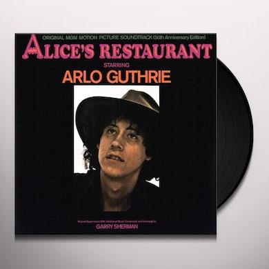 Arlo Guthrie ALICE'S RESTAURANT: ORIGINAL MGM MOTION PICTURE Vinyl Record