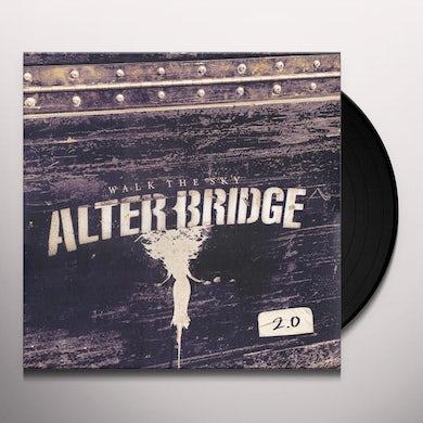 Alter Bridge Walk The Sky 2.0  Cream Vinyl Record