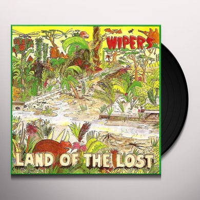 Wipers LAND OF THE LOST Vinyl Record