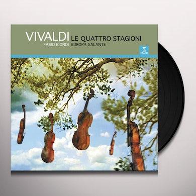 Fabio Biondi VIVALDI: THE FOUR SEASONS Vinyl Record