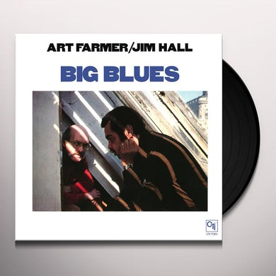 Art Farmer / Jim Hall BIG BLUES Vinyl Record