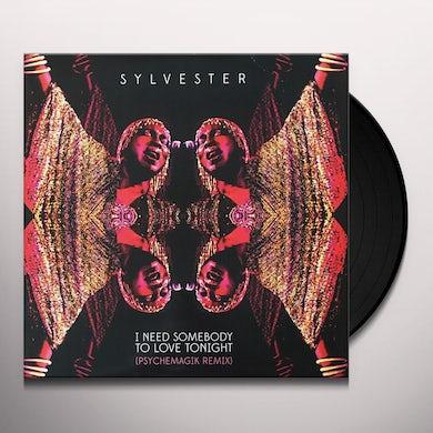 Sylvester I NEED SOMEBODY TO LOVE TONIGHT Vinyl Record