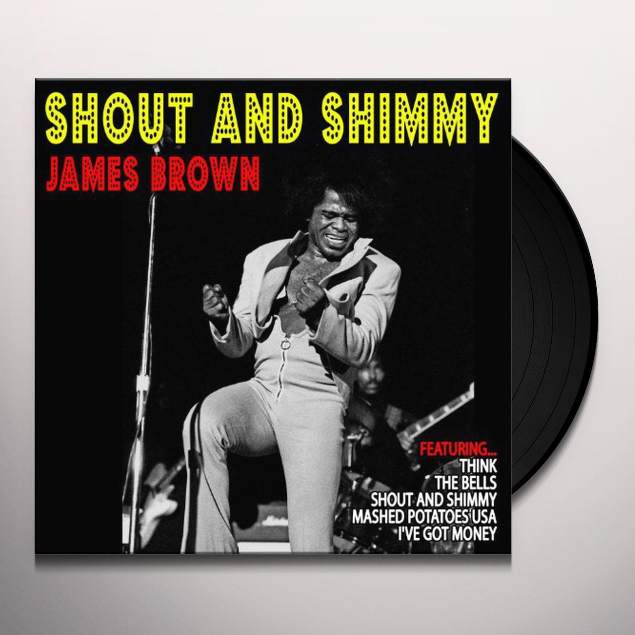 James Brown Shout Amp Shimmy Vinyl Record