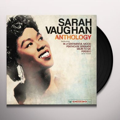 Sarah Vaughan ANTHOLOGY Vinyl Record