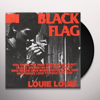 Black Flag LOUIE LOUIE Vinyl Record