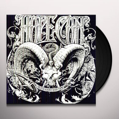 Hope Conspiracy DEATH KNOWS YOUR NAME Vinyl Record