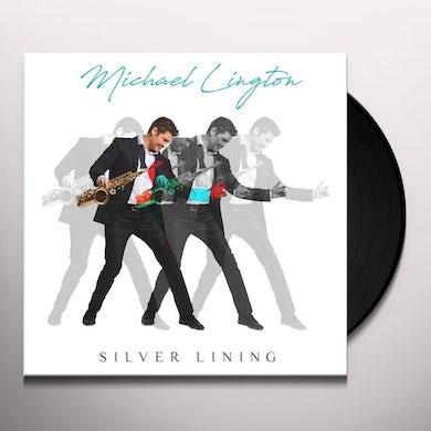 Michael Lington SILVER LINING (BLUE VINYL) Vinyl Record