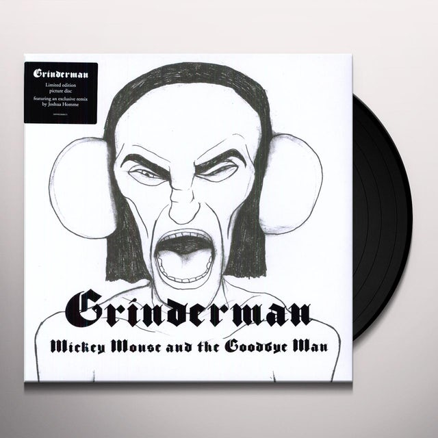 Grinderman MICKEY MOUSE & THE GOODBYE MAN Vinyl Record