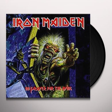 Iron Maiden NO PRAYER FOR THE DYING Vinyl Record