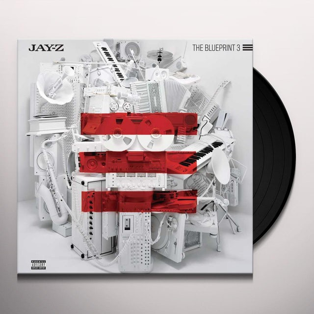 Jay Z BLUEPRINT 3 Vinyl Record