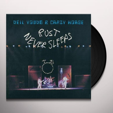 Neil Young & Crazy Horse RUST NEVER SLEEPS Vinyl Record